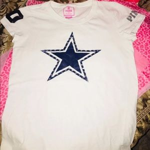 NFL collection Dallas cowboys pink T-shirt
